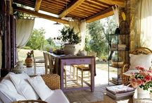 ristrutturare una vecchia cascina / restoring old farm houses, remodeling, rustic style, Italian style, country style