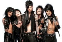 Black Veil Brides / Black Veil Brides day is June 17. On that day, wear you're merch and draw the bvb symbol on your hand. Don't forget! / by Emily Kate