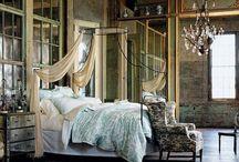 Стильная идея — балдахин / Наверное все когда-нибудь мечтали о том, чтобы на какое-то время оказаться в королевском дворце и спать на кровати королевского размера, окутанной легкой тканью.