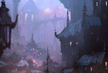 village-town