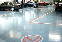 Car Showroom Flooring / Commercial flooring options for a car dealership & showroom.