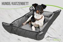 Hunde / Katzen Decken und Möbel / Hier finden Sie verschiedenste Farben und Modelle von Hundedecken, Tiermöbel und mehr