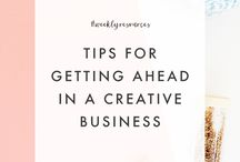 + CREATIVE BUSINESS TIPS + / Tips for running your creative business.