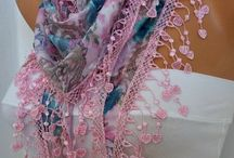 Pretty Scarves :] / by Jenifer Lim