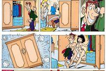 Twisted comic strips