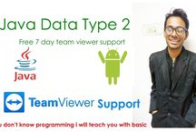 data type in java and android