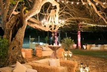 Garden country wedding