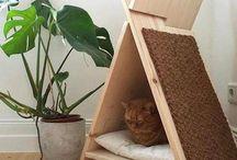 Katten krabpaal