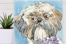 Etsy Pet Greeting Cards