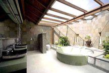 baño de diseño / Diseño, producción y fabricación exclusiva y ecológica por www.comprarenbali.com