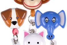 Cute Badge Holders / Display your credentials in a fun, professional way with retractable badge holders for a variety of medical professionals! / by ADVANCE Healthcare Shop