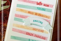 Cards: Stampin Up Wishlist