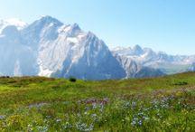 Vaellusmatka, Dolomiitit Italia ( Hiking, Italy )