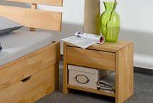 Kolekcja mebl z drewna bukowego i dębowego Beds / Piekne i nowoczesne meble do do sypialni wykonane z drewna bukowego i dębowego. Kolecja Beds