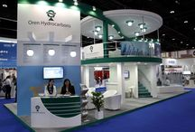 ADIPEC Abu Dhabi / Exhibition stand designed and produced by Strokes Exhibits Team