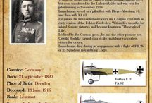 Aircrafts WW I Fokkers