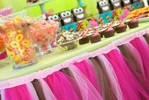 Kids Party Ideas: Owl / Festas infantis de corujinha <3