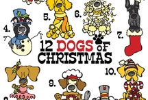 Twelve Dogs of Christmas / by ScoutDog Studios