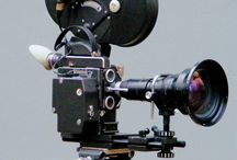 Classic movie cameras etc / Classic technology behind the moving images on our screens.