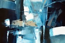 Abstrait / Abstract / Découvrez des œuvres d'art abstraites uniques et originales réalisées par des artistes peintres de talent et laissez vous transporter par vos émotions.