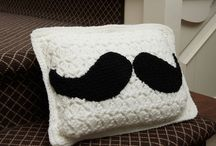 Pillows - knit and crochet