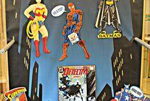 Superhero displays