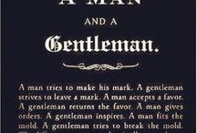 Gentleman things