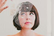 Bride Short Hair Style/短髮新娘造型