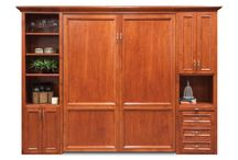 Murphy Beds / Save space with a custom Murphy Bed from Murphy Beds of San Diego! Available in all sizes and many finishes.