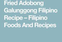 Galunggong Filipino Recipe – Filipino Foods And Recipes