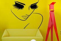 Decoração de salões de beleza