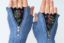 handschuhe und socken