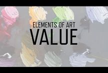 Elements of art / Art theory