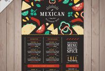 flyer gastronomia