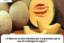 Meló / Melón  / Aquí trobaràs curiositats sobre el meló  / Aquí encontrarás curiosidades sobre el melón