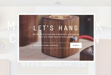 Pop-ups/lightboxes / A collection of the best lightbox popups from around the web