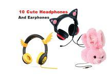 Cute Headphones / Cute Headphones & Earphones for Kids and Girls