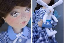 My dolls / textile dolls, toys, mite and so much more