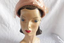 Vintage Hats / There's something very special about vintage hats. We can learn so much.
