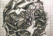 Татуировки в виде сердца