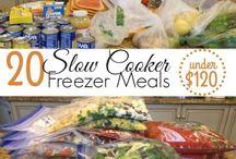 freezer to crockpot meals