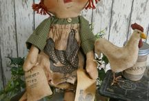 Dolls and their Raggedy Friends / by Reda Johnson