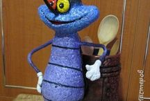 Жучки червячки букашки(лепка)