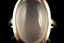 Antique Moonstone Rings