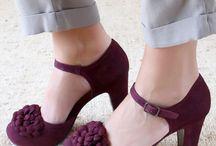 zapatos con accesorios