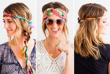 Festival Style!! / Creative ways to make life on the festival trail more beautiful, comfortable, or easier!