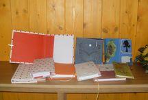 le mie creazioni / progetti realizzati da me artigianalmente. rilegatura artigianale.