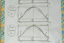 konštrukcia - strihy