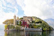 Italy. The Villas