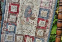 Joy Fardy / quilting embroidery patchwork gardening sewing